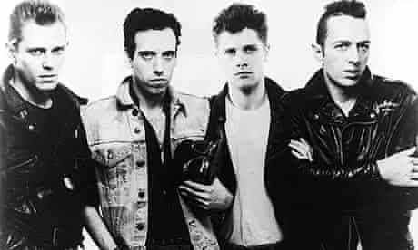 The Clash featuring Paul Simonon, Mick Jones, Pete Howard and Joe Strummer