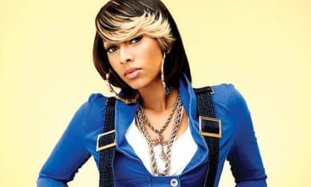 R&B singer Keri Hilson