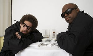 Danger Mouse and Cee-Lo from Gnarls Barkley