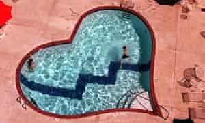 Graceland's Heartbreak Hotel swimming pool