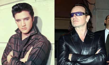 Elvis Presley and Bono