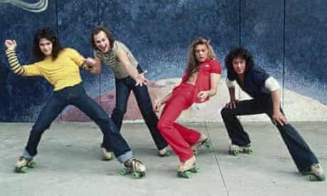 Van Halen on Roller Skates