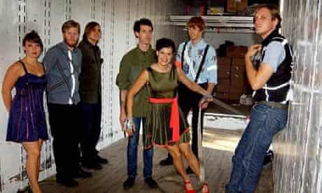 Arcade Fire on Randalls Island, New York City, USA