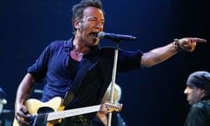Bruce Springsteen at Glastonbury 2009