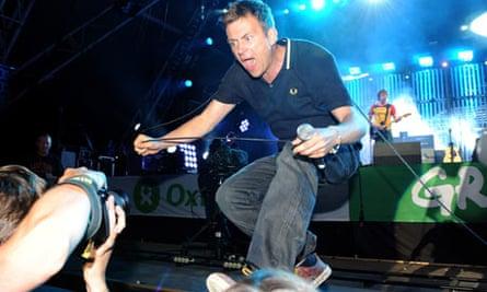 Blur at Glastonbury Festival 2009