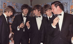 The Beatles with manager Brian Epstein in 1965