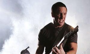 Trent Renzor of Nine Inch Nails