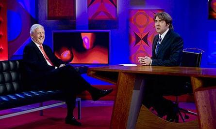 Michael Parkinson and Jonathan Ross