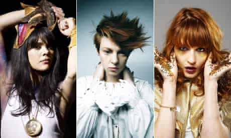 Bat For Lashes, La Roux, Florence and the Machine