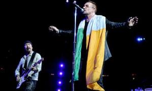 U2 perform in Barcelona