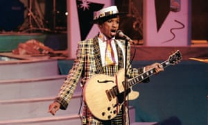 Kid Creole performs on the Tube