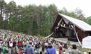Taico Club festival in Japan