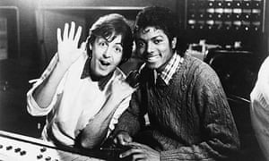Paul McCartney and Michael Jackson