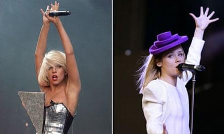Lady Gaga and Roisin Murphy