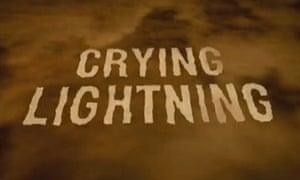 Arctic Monkeys Crying Lightning title 1