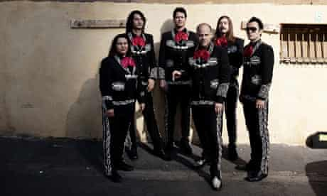 Punk band the Bronx
