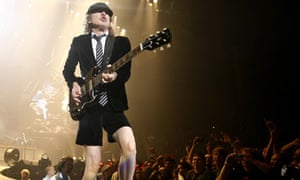 AC/DC guitarist Angus Young