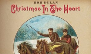 Bob Dylan Christmas in the Heart album cover