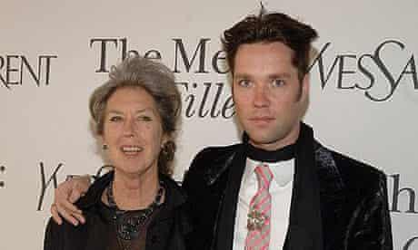 Rufus Wainwright and his mother Kate McGarrigle