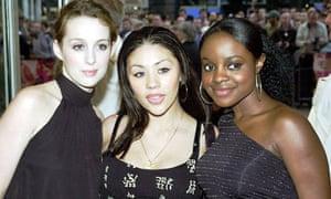 Siobhan Donaghy, Mutya Buena and Keisha Buchanan from Sugababes