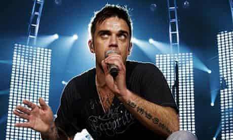 Robbie Williams live in Australia