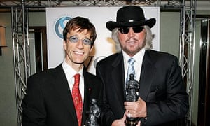 Robin and Barry Gibb of Bee Gees in 2006