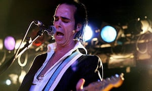 Nick Cave performs with Grinderman