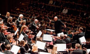 Jaap Van Zweden conducting the Netherlands Radio Philharmonic Orchestra.