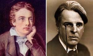 John Keats and WB Yeats