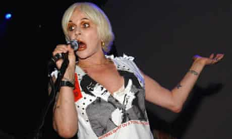 Strike a pose ... Genesis P-Orridge has refused to continue performing with Throbbing Gristle.