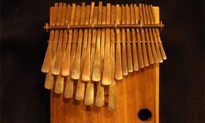 Mbira thumb piano