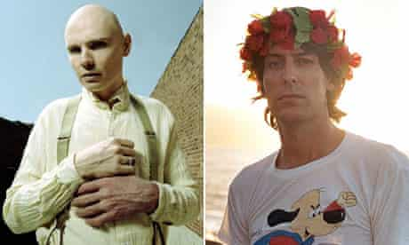 Billy Corgan and Stephen Malkmus