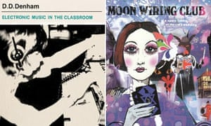 Sleeve for Electronic Music In The Classroom and Moon Wiring Club