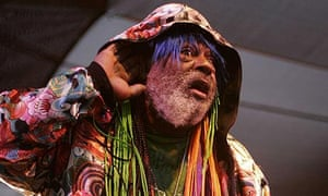 George Clinton of Parliament-Funkadelic