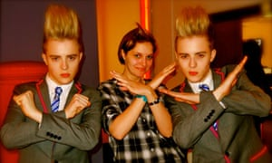 Jedward meet the Guardian's Sophie Robehmed
