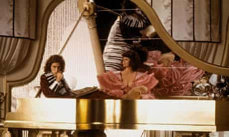 Roger Daltrey  as the composer in Ken Russell's 1975 film Lisztomania