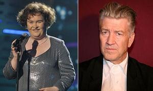 Susan Boyle and David Lynch