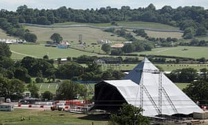Glastonbury prepares for 40th anniversary festival
