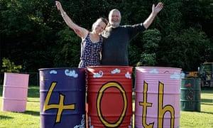 Glastonbury festival prepares for 40th-anniversary