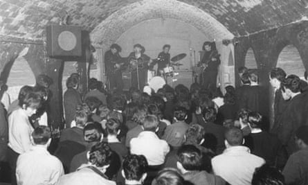 The Merseybeats at the Cavern Club, Liverpool