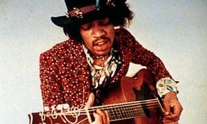 Jimi Hendrix in 1970