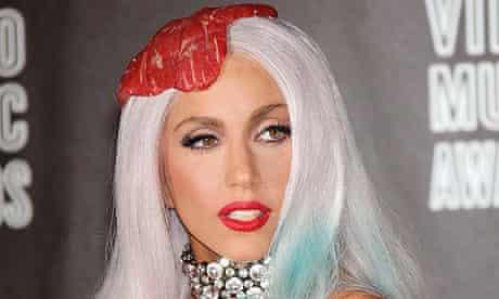 Lady Gaga at the MTV VMAs 2010