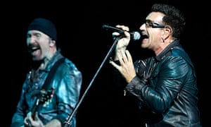Bono and the Edge of U2 in Turkey