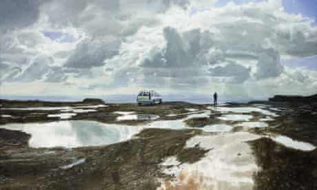 Threadneedle Prize 2010 Fionnuala Boyd and Les Evans's Clee Hill 2009
