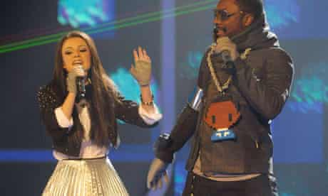 The X Factor – Cher Lloyd with Black Eyed Peas' will.i.am