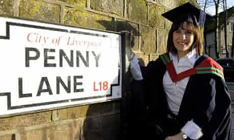 Beatles graduate Mary-Lu Zahalan-Kennedy
