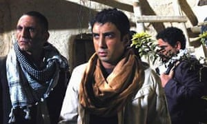 Necati Şaşmaz, centre, as Polat Alemdar in The Valley of the Wolves: Iraq