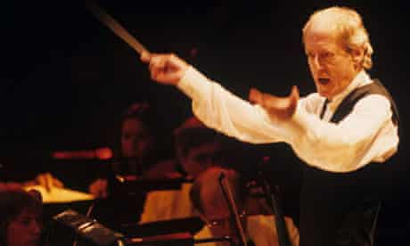 John Barry at the Royal Albert Hall in 1999
