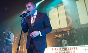 Ben Drew, aka Plan B, aka Strickland Banks, performs at the Newcastle O2 Academy in October 2010