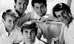 Sands of time … the Beach Boys in 1966.